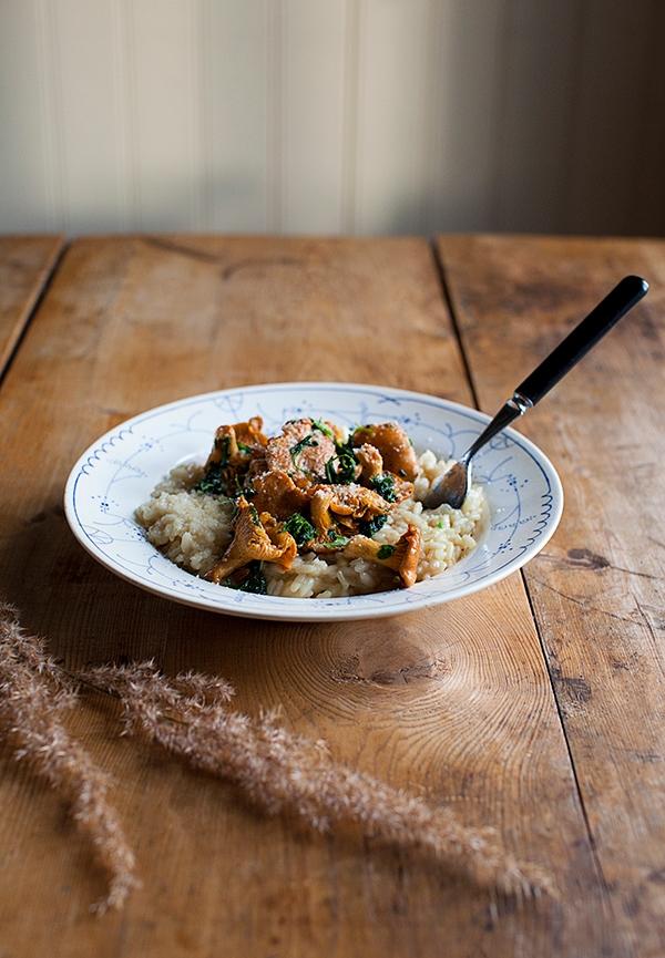 Chanterelle-risotto-recipe