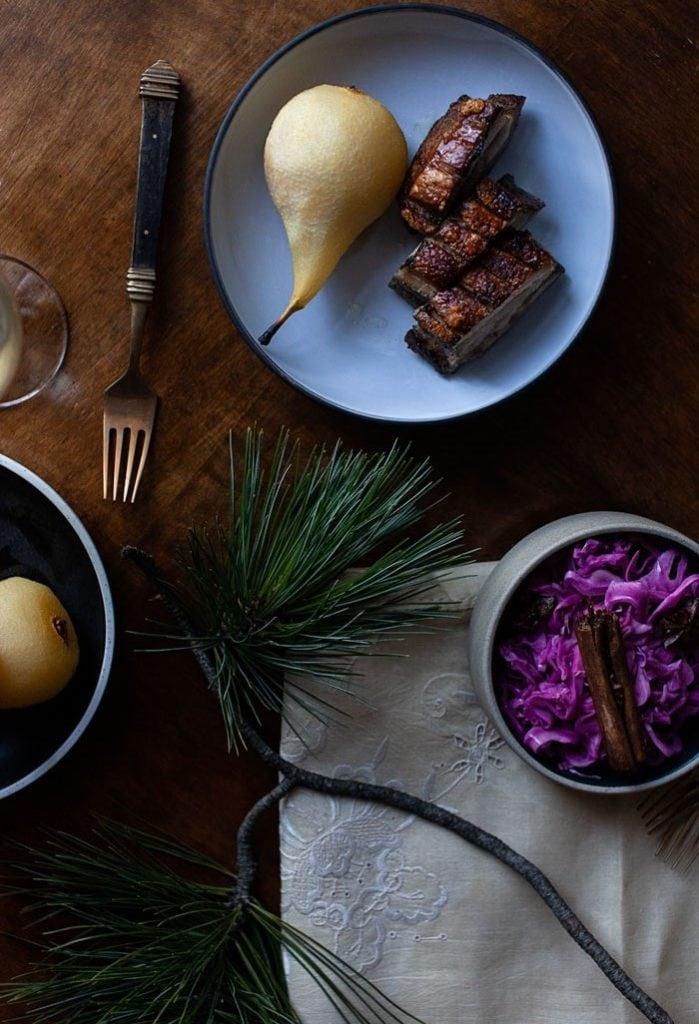 Pork belly cabbage recipe
