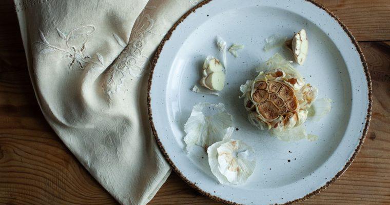 Whole Oven Roasted Garlic Bulbs Recipe