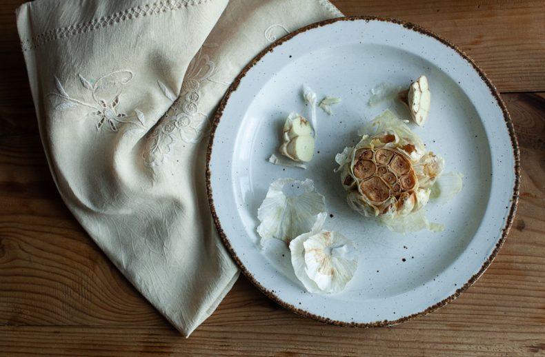 Oven Roasted Garlic Bulbs recipe