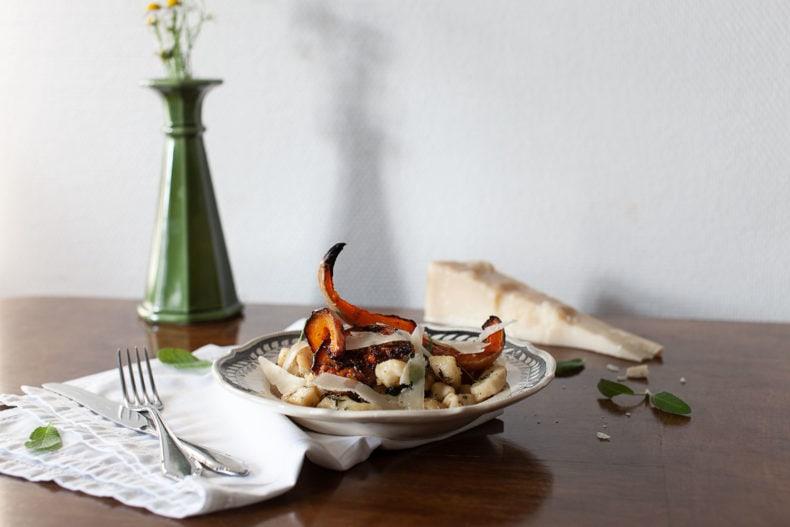 gnocchi, sage and butternut squash recipe